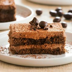 Bring Italian flair to your dessert table with our yummy Chocolate-Espresso Tiramisu: http://www.bhg.com/recipes/desserts/chocolate/chocolate-recipes/?socsrc=bhgpin062514chocolateespressotiramisu&page=4