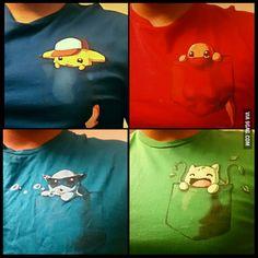 Pokemon in a pocket