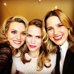 Hilarie Burton, Bethany Joy Lenz, and Sophia Bush in Paris 10/17/2014
