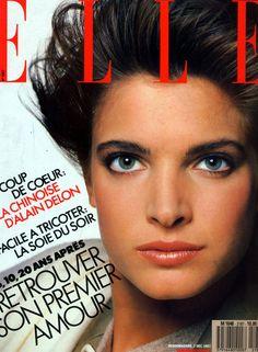 Stephanie Seymour  -  Elle France December 1987