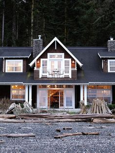 A Whidbey Island Beach House by Soli Terry Architects . cedar shake .