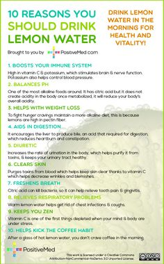 10 Reasons You Should Drink Lemon Water!PositiveMed | Where Positive Thinking Impacts Life