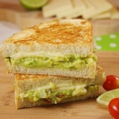 Guacamole Grilled Cheese    oh my...O_O