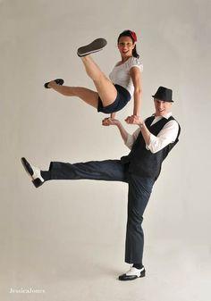 Lindy Hop   The Firkin Crane    #Lindy #Hop #Swing #Dance #Dancing #Man #Woman #Pair #Couple #Pairs #Legs #Arial #Shows #Shorts #Red #Flower #Hair