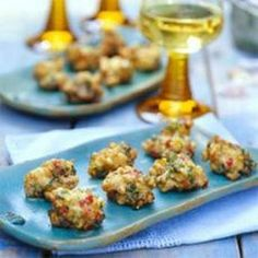 Clam and Corn Fritters