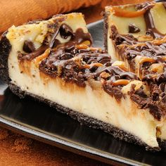 An ooey gooey favorite turtle cheesecake recipe. Turtle Cheesecake Recipe Recipe from Grandmothers Kitchen.
