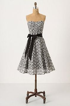 pretty strapless from anthropologie