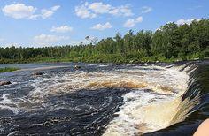 Rainbow Falls Manitoba