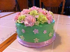 Happy Birthday Sister! birthday card, birthday bash, mom birthday, birthday sister, gum paste, happy birthdays, cakes, 50th birthday, creativ cake
