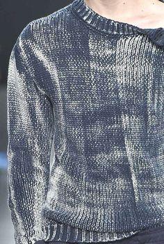 Distressed knits at Bottega  #woolandthegang #knitwear #inspiration