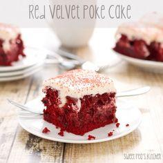 Sweet Pea's Kitchen » Red Velvet Poke Cake