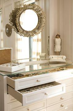 Turn any dresser into a jewelry organizer.