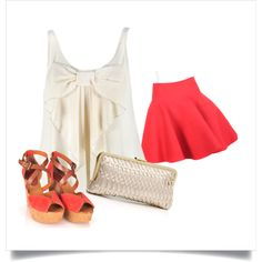Summer Date, created by karyjazmin on Polyvore
