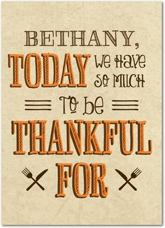 Elastic Day - Happy Thanksgiving Greeting Cards from Treat.com