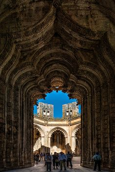 Batalha Monastery, Portugal The Door by Nuno Trindade on 500px