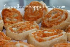 Good Food Happy Family: Buffalo Chicken Spirals
