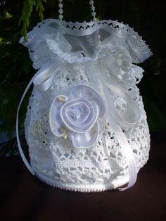 #Crochet Wedding Purse