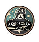 Tlingit whale art