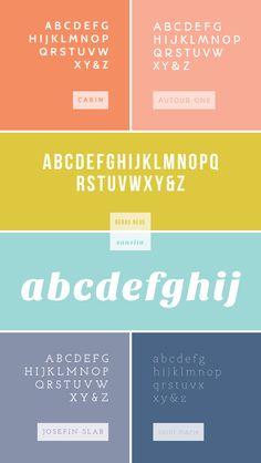 favorite web fonts / breanna rose