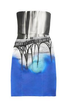 Sanfran Alba Dress by Mary Katrantzou for Preorder on Moda Operandi