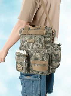the best Dad Military Diaper Bag.