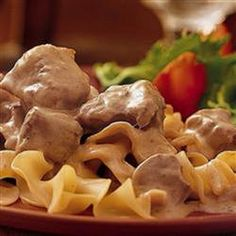"""Super Duper Slow Cooker Beef Stroganoff 