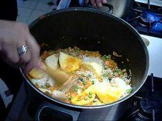 CHUPE DE CAMARONES ( comida Peruana)