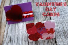 great handmade cards by Sew Woodsy valentin card, handmad card, valentine day cards