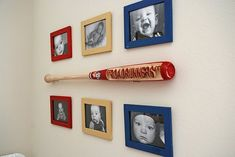 Hanging baseball bat