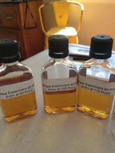 On Whiskey: The Wheat Experiment