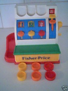 can still remember playing cashier