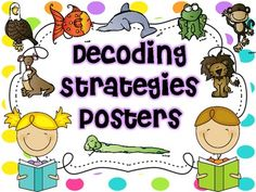 Decoding Strategies {Posters and Bookmarks}