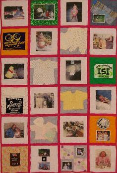 photo squar, twin quilt, babi quilt, memori quilt, cloth quilt
