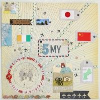 A Project by choose2b from our Scrapbooking Gallery originally submitted 05/01/12 at 11:08 AM
