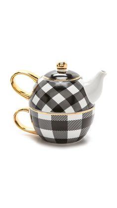 Well now that's a modern teapot. Cool!