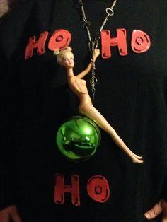 Ugly Christmas sweater.... Miley