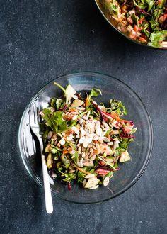 Glowing Skin Salad with lemon-honey vinaigrette //hello natural