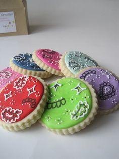 Bandana cookies
