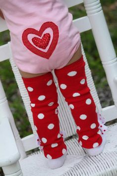 Add a heart to the butt of your valentine onesie -- must be added to onesie order. $5.00, via Etsy.