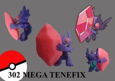 Fimo pokemon 3g on pinterest fimo pokemon and mudkip - Pokemon tenefix ...