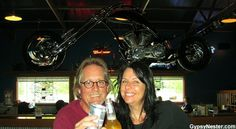 Mile Markers, @Matty Chuah GypsyNesters, recently stopped at Illinois' largest biker destination, Poopy's Pub n' Grub! Yes... Poopy's. #ILMileMarkers