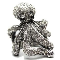 octopus ring from Jewelry