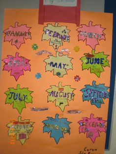 My Calendar classroom display photo - SparkleBox
