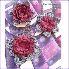 Crochet Flowers ~ Fionitta