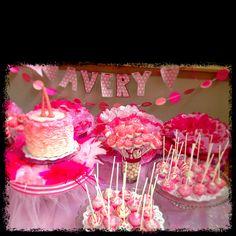 Avery's tu-tu -tastic Birthday!