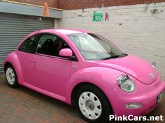 punch buggy, car ador, pink cars, future car, random, first car, dream car, mini car, eyelash