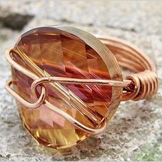 Wire Wrapped Rings (VIDEO)
