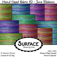 Surface - Hand Dyed Fabric (S) - June Ribbons Contact | Flickr - Photo Sharing!