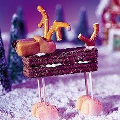 Christmas candy moose