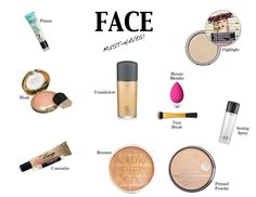 Top Face Makeup MVP Must Haves! *Blog by Me*